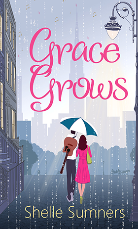 Grace Grows by Shelle Sumners UK Edition Book Cover