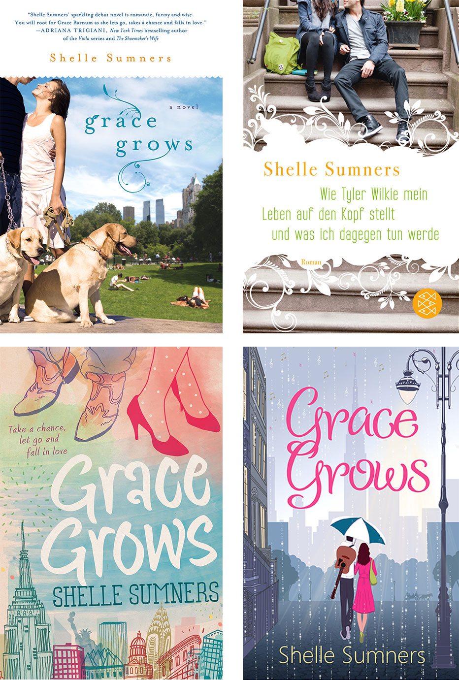 Cover image of Grace Grows by Shelle Sumners